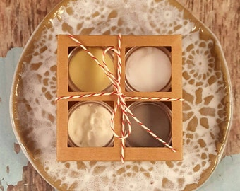 Spa samples - Soap Sampler - Whipped Body Butter - Spa Gift Set - Whipped Shea Butter - Handmade Body Lotion - Shea Body Lotion