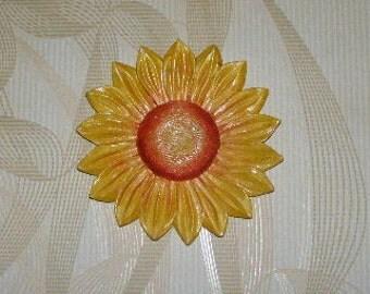 Flower sunflower 12 cm