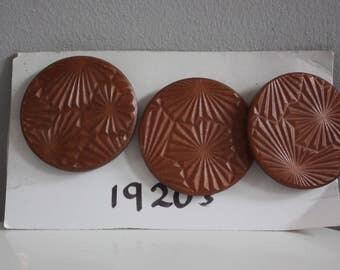 Vtg 20's Bakelite Buttons