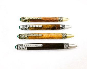 Celtic Pen, Handcrafted Pen, Irish Gift, Celtic Knot, Celtic Gift, Gift for Him, Anniversary Gift, Gift for Her, Graduation Gift, Teacher