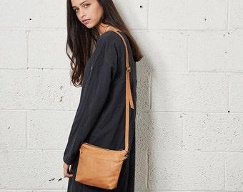 Sale Small Black Leather Bag, Women Shoulder Bag, Crossbody Purse Bag, Women Clutch, HandBag