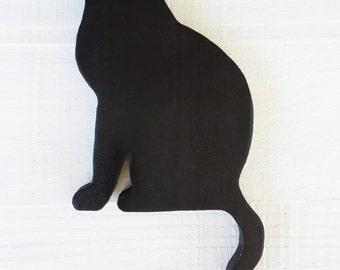 Wooden Cat Silhouette – Door Topper, Cat Art, Door Decoration, Cat Décor, Cat Shadow, Wooden Cat, Cat Lover Gift, Gift for Cat Lovers