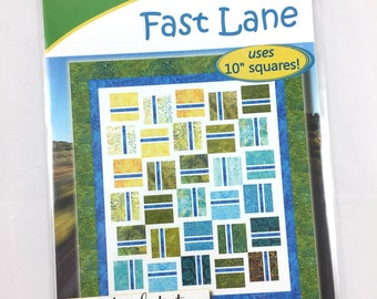 Fast Lane Quilt Pattern By Cozy Quilt Designs