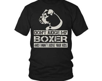 Boxer T-Shirt. Boxer tee present. Boxer tshirt gift idea. - Proudly Made in the USA!