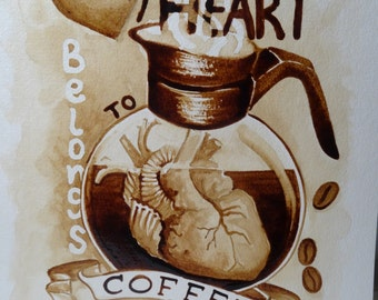 My heart belongs to coffee