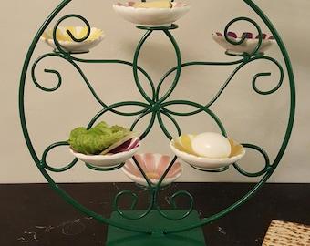 "Passover Seder Plate ""Flower Garden"""