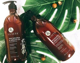 Macadamia and Argan Oil Shampoo & Conditioner Duo