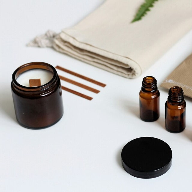 bougie parfum e naturelle v g tale france par notesuave sur etsy. Black Bedroom Furniture Sets. Home Design Ideas