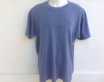 Vintage T & C Surf Design Hawaii Tshirt | T And C Surf Small Logo Tshirt | Made In Usa Size Large