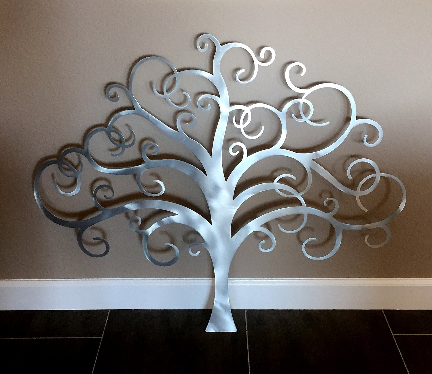 metal tree wall art tree of life wall decor metal tree wall. Black Bedroom Furniture Sets. Home Design Ideas