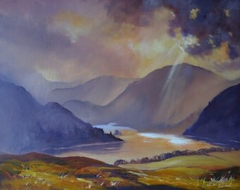 Ray of Light, Ullswater Limited Edition Print