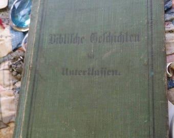 Antique book victorian era book old book antique german book antique foreign book ephmera