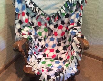 Soccer - Youth fleece blanket