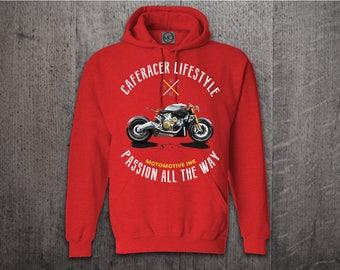 Cafe Racer hoodie, biker hoodies, motorcycle hoodies, car hoodie, Graphic hoodies, funny hoodies, biker t shirts, Unisex Hoodies bike shirts