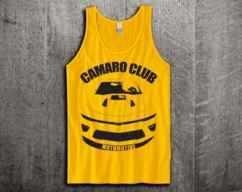 Chevy Camaro Tank Top, Camaro t shirts, Chevy shirts, cars tanks, Camaro tanks, Muscle car t shirts, Unisex Tank top by Motomotiveink