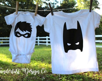 Partners Against Crime shirts- Batman and Robin