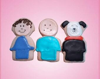 Little People Cookie Cutter Set