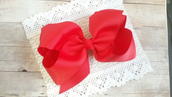 Red Big Bow, Large Hairbows, Oversize Bow, Red Large Hair Bow,Hair Clips For Baby, Bow Holder, Bow Clips, Hair Clips Baby, Large Hair Bow