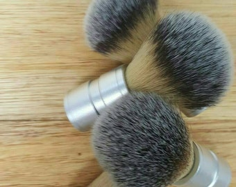 Shave Brush, Metal Handle, Nylon