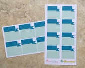BLOOMING BIRTHDAY Monthly Calendar BANNER Box Stickers: Appointment, Events, Occasions inkWELL Press LucKaty