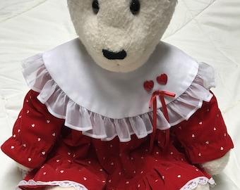 Little Red Dress Teddy Bear