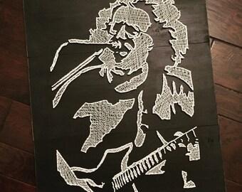 Jerry Garcia Greatful Dead String Art