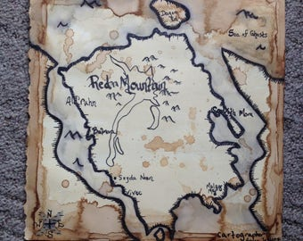 Red Mountain Region-Skyrim Map