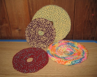 Crochet Frisbees - Large