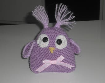 OWL - OWL OWL decoration - crochet OWL - home decor - Florencia