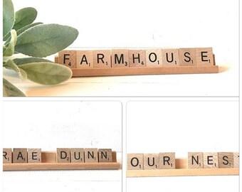Scrabble tile word sets