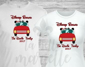 Matching Family Disney Vacation Shirts - Custom Matching Family Disney Bound Shirts - Disney Road Trip Shirts - Disney Anniversary Shirts