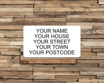 Return Address Sticker, Custom Return Address, Personalised Return Address, Return Address Labels, Return Address Stickers, Address Labels