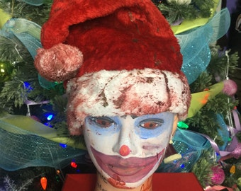 Bloody Santa Hats