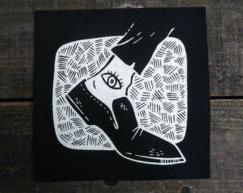 Count Olaf Sew On Canvas Patch