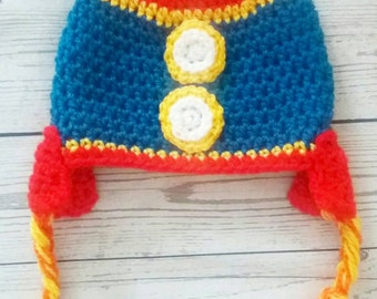 Rocket hat. Crochet rocket hat. Boys hat. Child hat. Winter hat. Girls hat. Winter accessory. Rocket accessory. Toddler hat. Handmade rocket