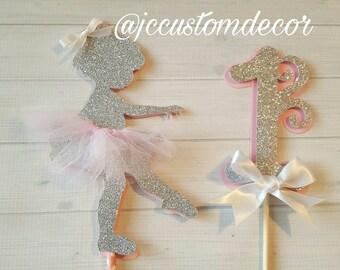 Ballerina Tutu Centerpiece-Ballerina Tutu Birthday Centerpiece-Ballerina Birthday Ballerina Baby Shower Centerpiece-Ballerina 1st Birthday