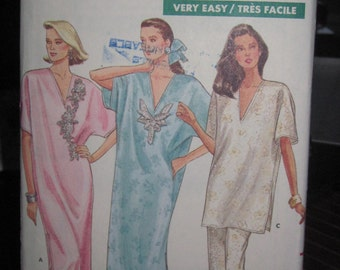 Pattern Butterick 5954 / dress and a whole night for women size large and xlarge VINTAGE
