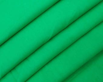 "Dress Material, Green Fabric, Ethnic Fabric, Sewing Accessories, Decor Fabric, 44"" Inch Cotton Fabric By The Yard ZBC7557E"