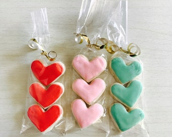"1.75"" Heart Sugar Cookies"