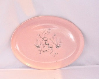 Light Pink Deco Serving Platter