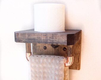 Bathroom Hand Towel Holder