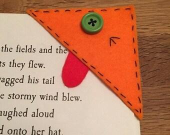 Childrens Monster Corner Bookmark