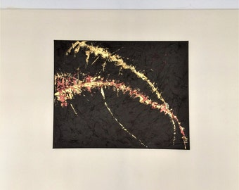 Acrylic painting , abstract art , textured acrylic , home decor
