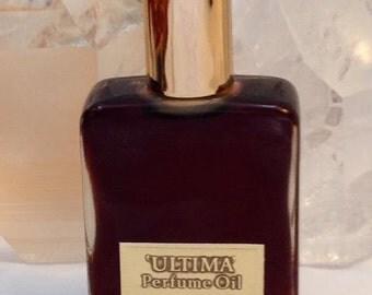 Revlon, Ultima Perfume Oil, 30 ml. or 1 oz. Flacon, Pure Perfumed Oil, 1961, New York, NY ..