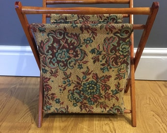 Tapestry Magazine Rack