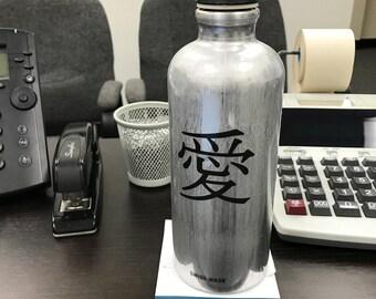 Reflective Kanji Die-Cut Decal