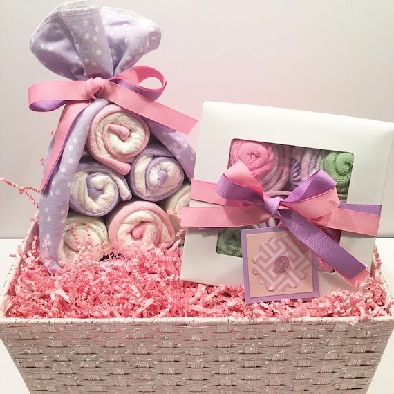 Stork Baby Gift Baskets Reviews : Baby shower gift girl basket diaper cake stork
