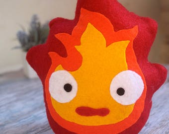Calcifer Studio Ghibli Peluche Howl's Moving Castle