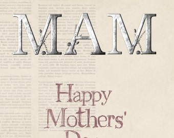 Mother's Day Card for your Mam