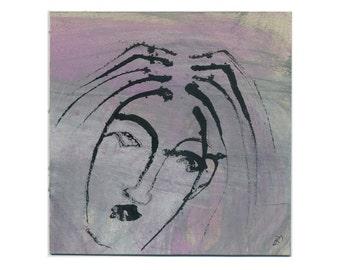 """Image original """"Despair"""" 15 x 15 cm (5, 9 x 5, 9 inch)"""